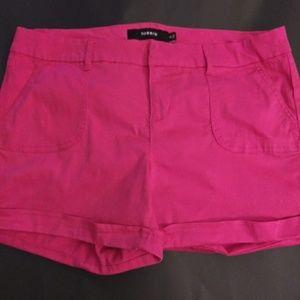 Torrid Hot Pink Shorts